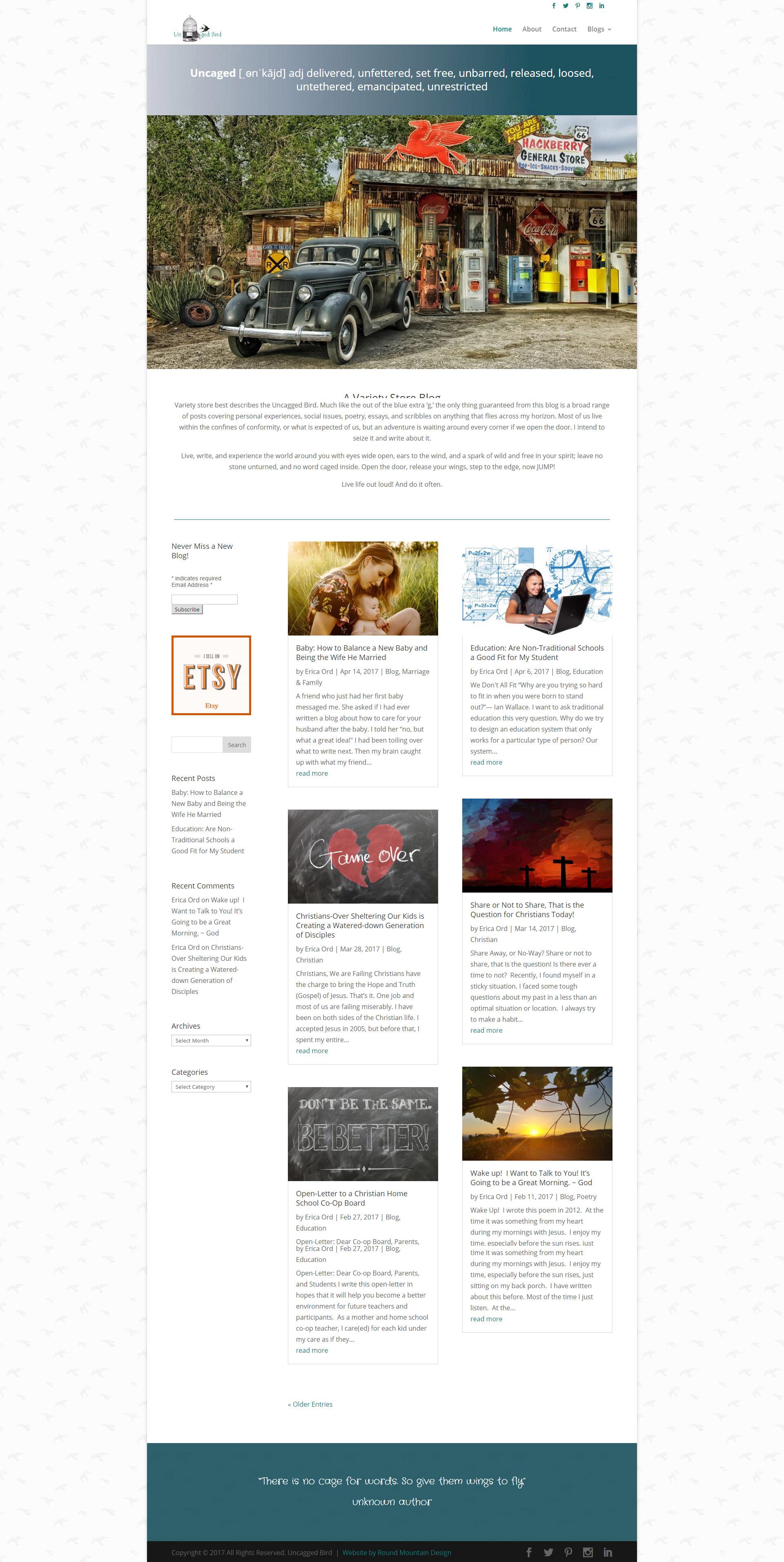 Social Media and Blog Writing