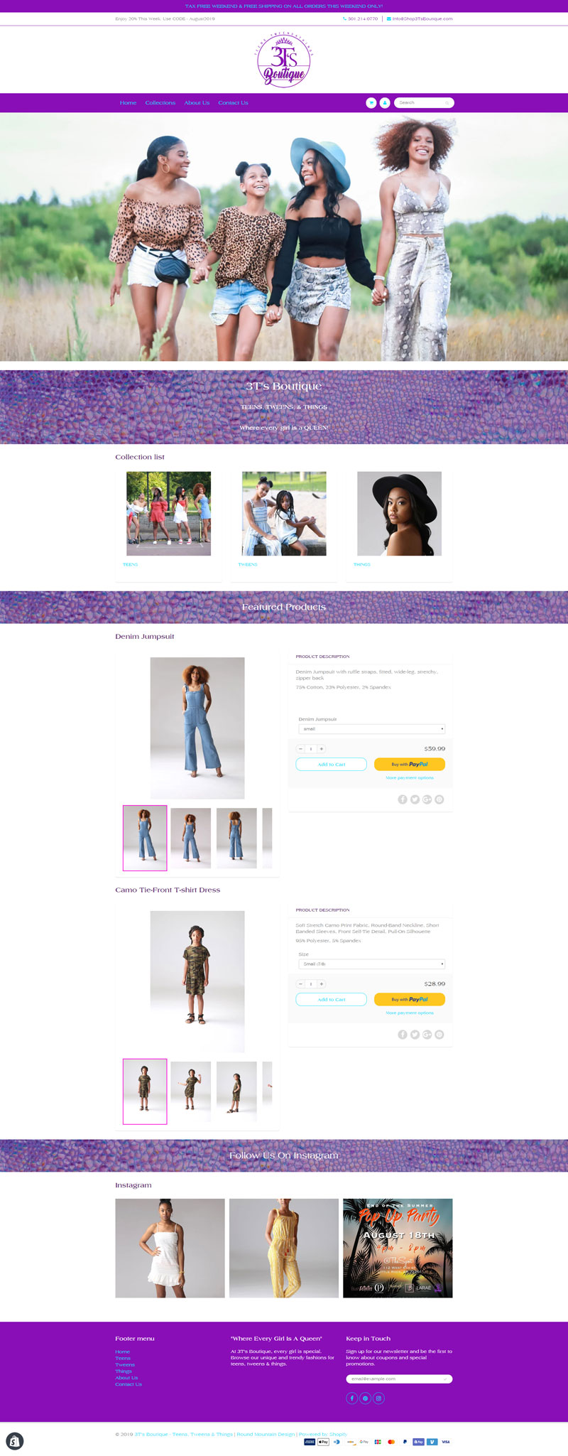 Shopify eCommerce Website Design