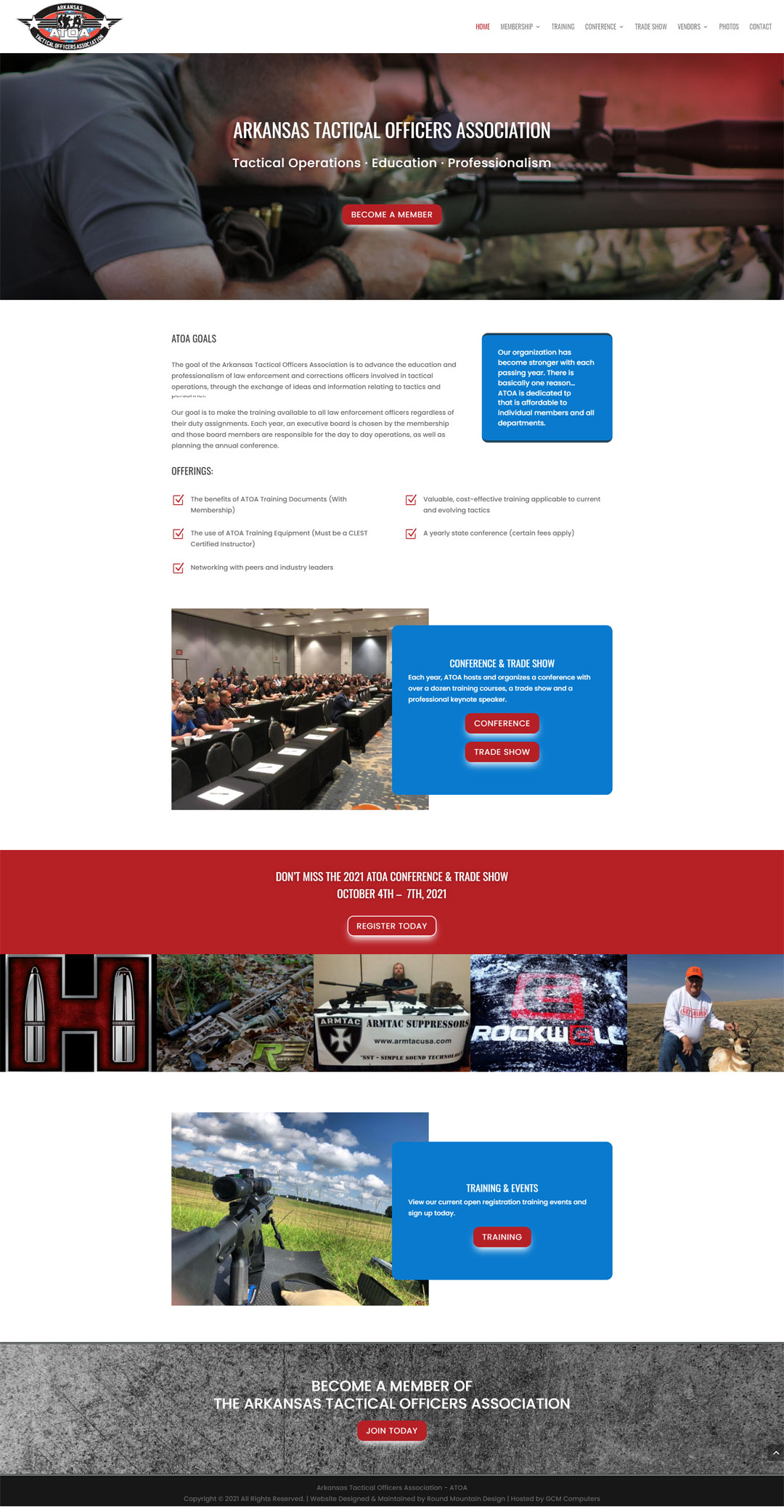 Website Design for ATOA